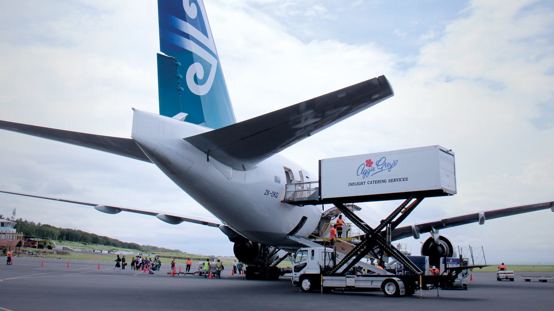 Thomson Inflight Meals >> Airline Catering Services for Air New Zealand - Faleolo Intl Airport, Samoa. | Grey Investment ...